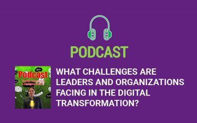 What challenges are leaders and organizations facing in the digital transformation?